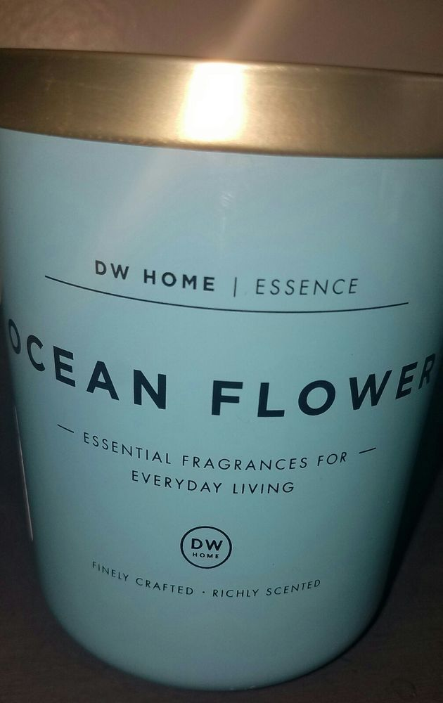 New Dw Home Candle Ocean Flower Scent 2 Wick 15 865 Oz Dwhome