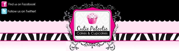 Cutie Patootie Cakes & CupcakesCutie Patootie, Patootie Cake, Cupcakes Rosa-Choqu