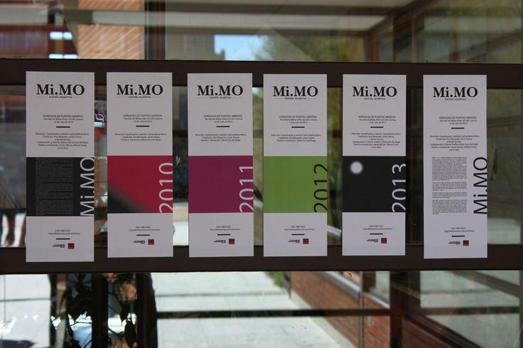 JORNADAS DE PUERTAS ABIERTAS presenta la selección de Mi.MO 2010 a 2013!  Facultad de Bellas Artes (UCLM), Cuenca. 12 de Julio de 2014   http://bellasartes.uclm.es/mimo/