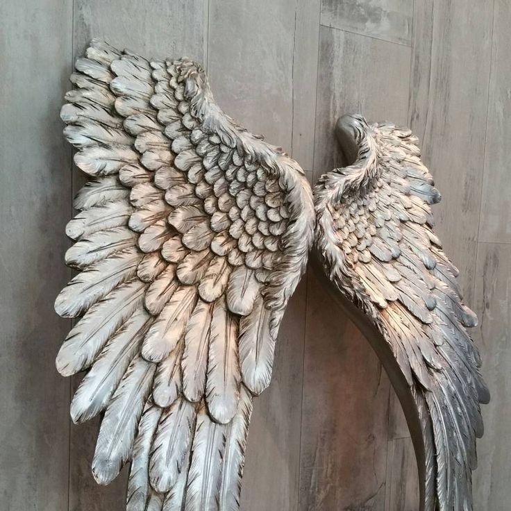 silver angel wings by daisy west | notonthehighstreet.com