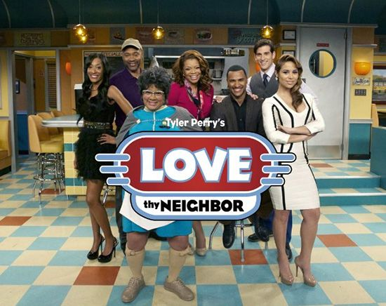 "Tyler Perry's about to release his first sit-com on Oprah Winfrey OWN Network called ""Love Thy Neighbor."""