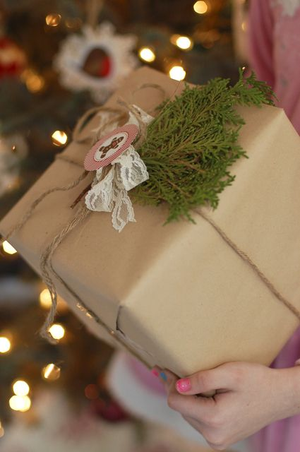 Packages from a Christmas Cottage Party #christmas #packages