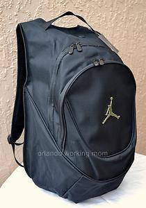 Nike Air Jordan Black Laptop Backpack for Men, Women, Boys, and Girls #OrlandoTrend #Nike #NikeAirJordan