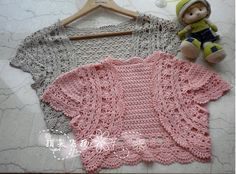 crochet circular shrug for toddlers - Google Search