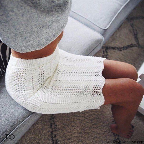 Вязаная юбка-карандаш спицами   Шкатулка рукоделия