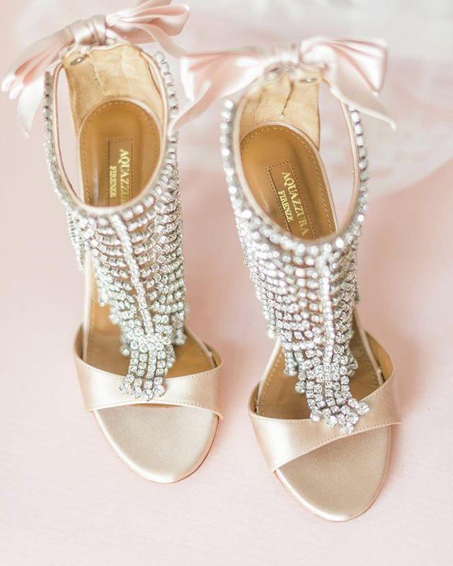 Scarpe Da Sposa Firenze.Add Some Fairytale Romance With These Aquazzura Shoes That Will
