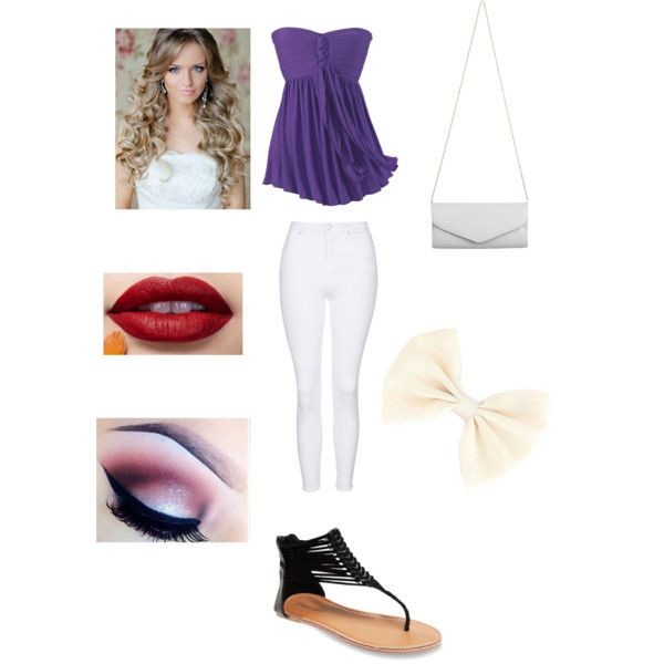 Untitled #12 by littleskate on Polyvore featuring polyvore, fashion, style, Topshop, Wet Seal and Charlotte Russe