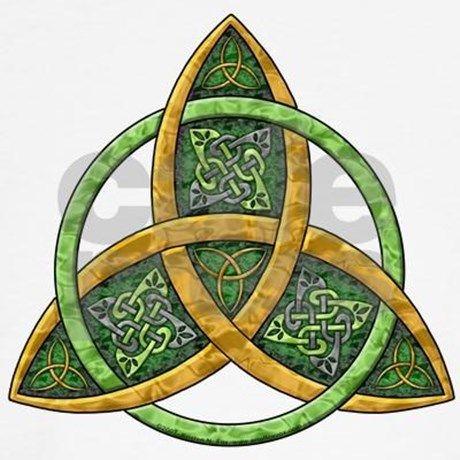Celtic Trinity Knot Hoodie by artoffoxvox