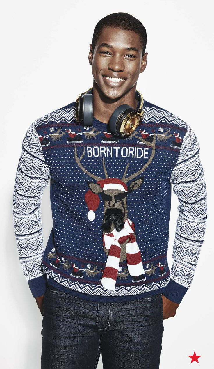 No holiday wishlist is complete without an Ugly Christmas Sweater ...