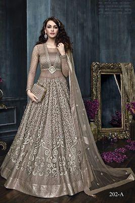 0a10515256 Bollywood Pakistani Indian Anarkali Salwar Kameez Wedding Party Dress Zoya  04