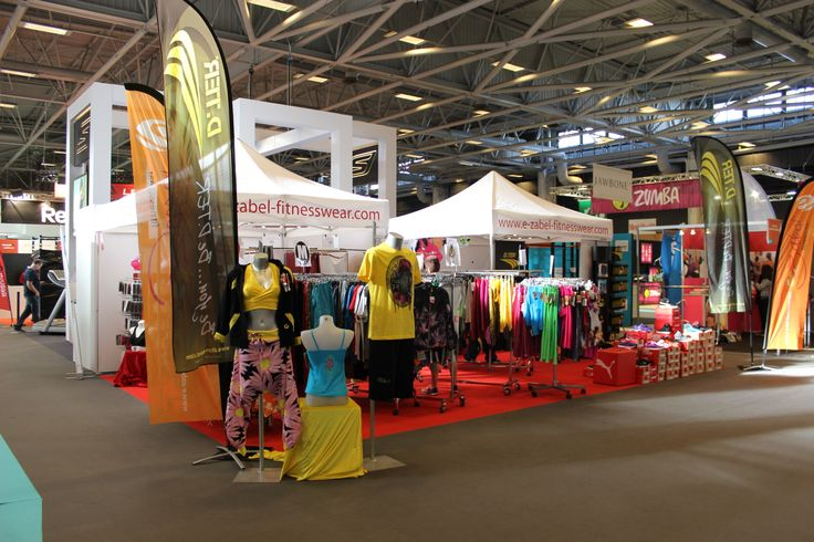 Stand d 39 ezabel fitnesswear c80 hall 6 lors du salon for Salon porte de versailles hall 4