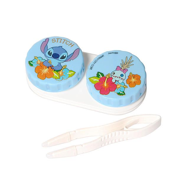 Disney Stitch Contact Lens Case (with pincer) | YESSTYLE