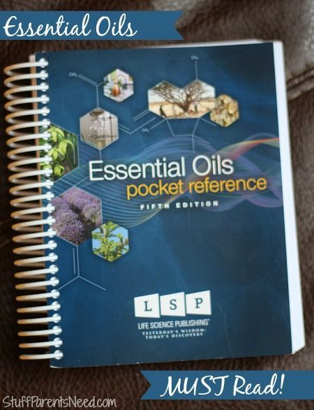 The Essential Oils Pocket Reference - such a great tool to have on hand when getting started!