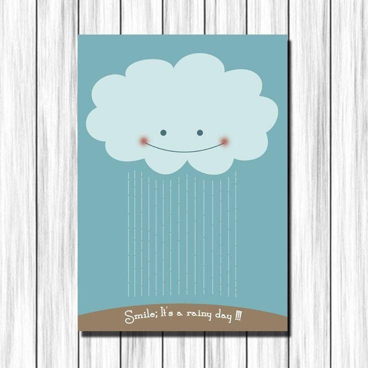 Cuadro infantil nube para decoraci n en habitaciones de - Cuadros para habitaciones de ninos ...
