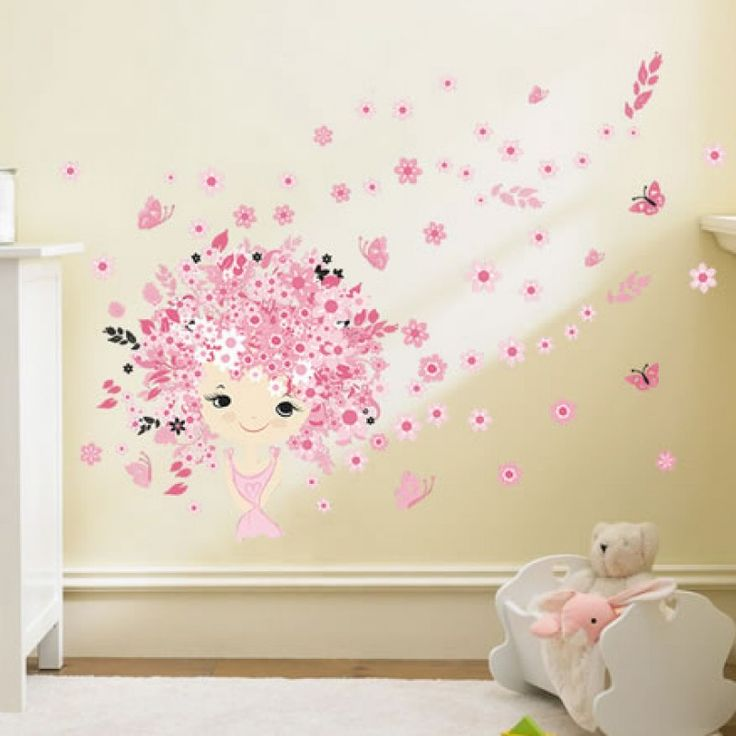 Kislány falmatrica, pink