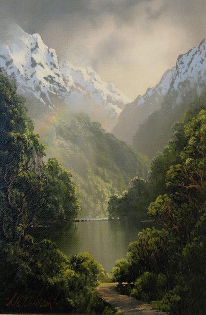 Stone Art Painting Nature