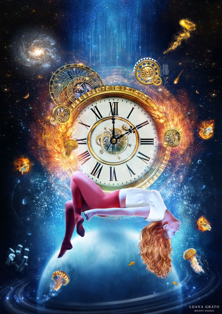 """Titolo: """"Sogno. Spazio. Realtà."""" Tecnica: fotomanipolazione digitale Dimensioni: 64 x 90 cm    #moonydesign #luanagrato #digitalart #phtomanipulation #photoshop #dream #space #reality #time #goldfish #planet #gears"""