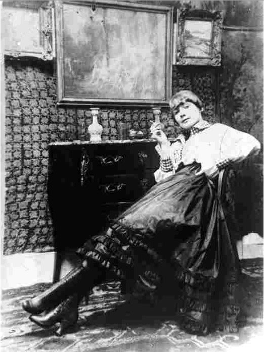 Gerda Marie Fredrikke Gottlieb (15 March 1886 – 28 July 1940) was a Danish fine-artist, illustrator and painter best known for erotica.  She was married to Lili Elbe, one of the first transgender women to undergo sex-reassignment surgery. They met in art school.