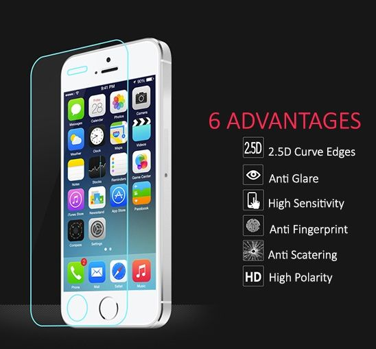 High quality original #Tempered Glass Protector for iPhone 5/5C/5S/5SE now available at amazing Discount. #iPhone #iPhone5 #iPhone5C #iPhone5S #iPhone5SE #iPhone6S #Samsung #SumsungGalaxy