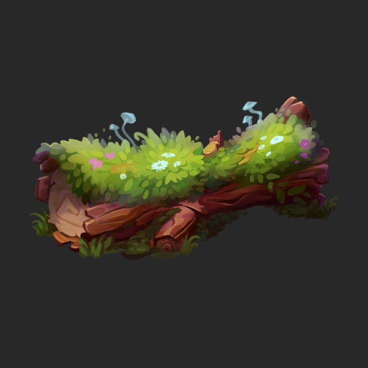 Magic stump, dahlia silver   – Game design