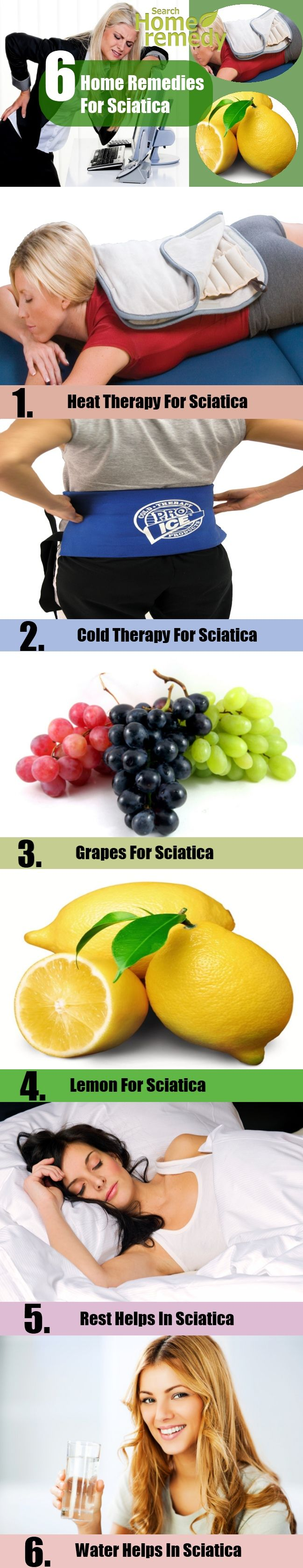Best 6 Home Remedies For Sciatica. by searchhomeremedy.com