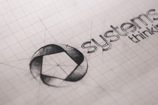 systems thinking - logo design