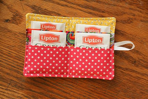 tea wallet - For your mum's tea @Vickie Hsieh Groh ;)