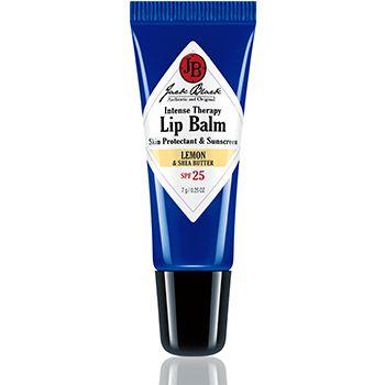 Jack Black - Intense Therapy Lip Balm SPF 25 Lemon and Shea Butter