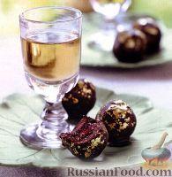 Фото к рецепту: Шоколадные конфеты с вишней