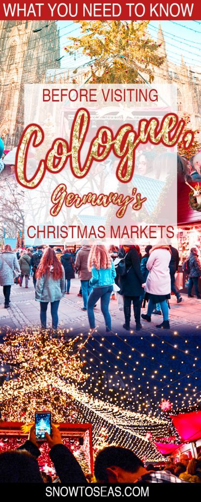 Obsessed with all things #Christmas? Read on to discover what you need to know to have the ultimate #Weihnachtsmarkt Adventure in #Cologne, #Germany.