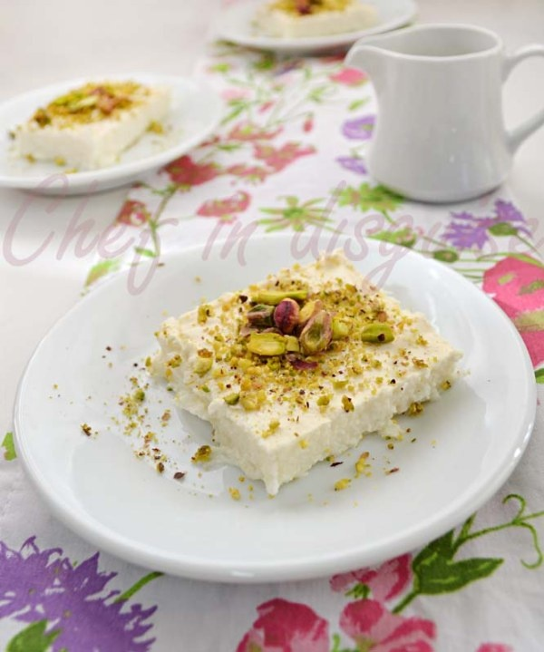 Lebanese nights dessert