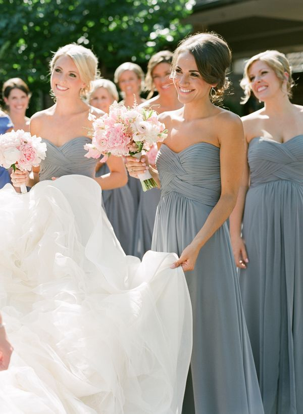 25 best ideas about blue wedding dresses on pinterest for Dusky pink wedding dress