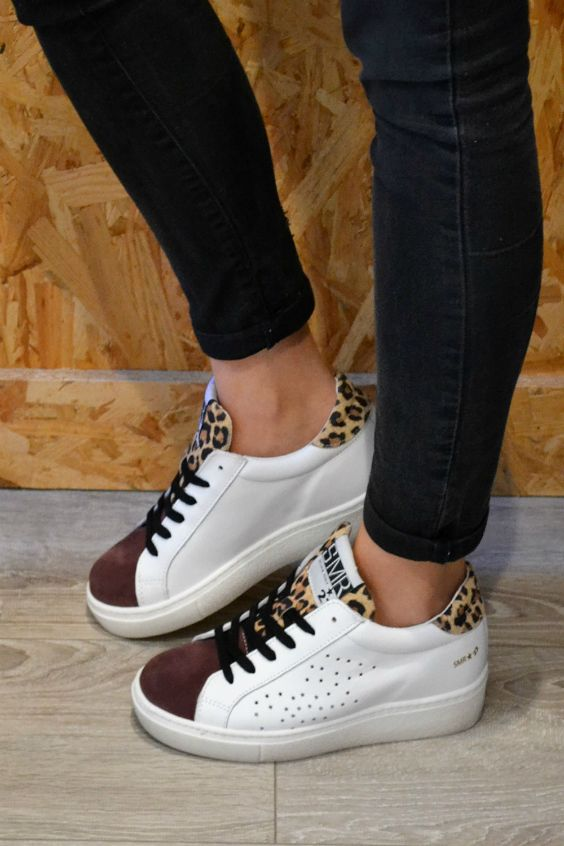 SEMERDJIAN GECIDA STAR V22 Blanc | Tendance Sneakers by