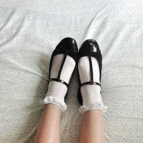 Cute shoes and frills