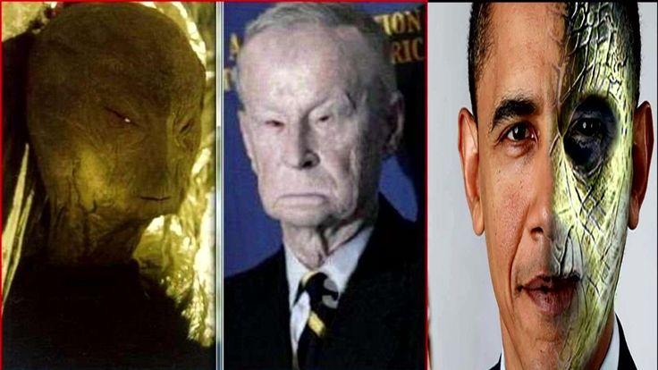 Обама, Буш и остальная политическая элита - рептилоиды. Факты доказатель...