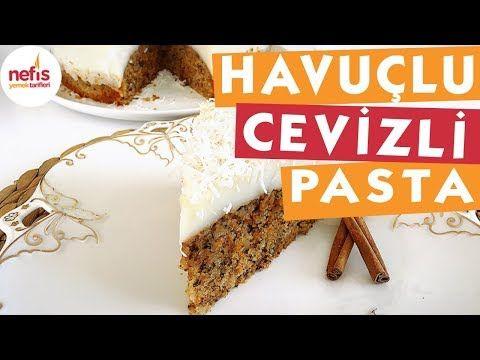 Havuçlu Cevizli Pasta – Nefis Yemek Tarifleri