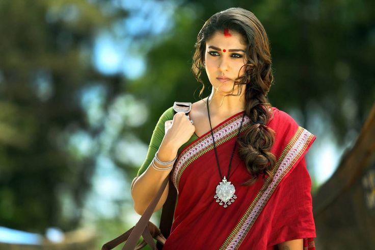 Nayantara Saree Photos Gallery Collection