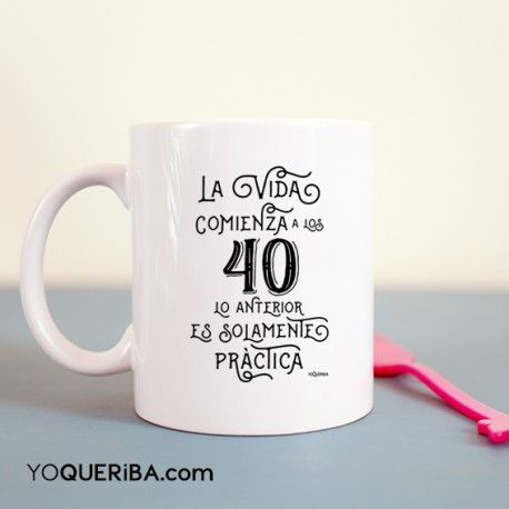 M s de 25 ideas incre bles sobre 40 a os en pinterest 40 - Decoracion con tazas de cafe ...