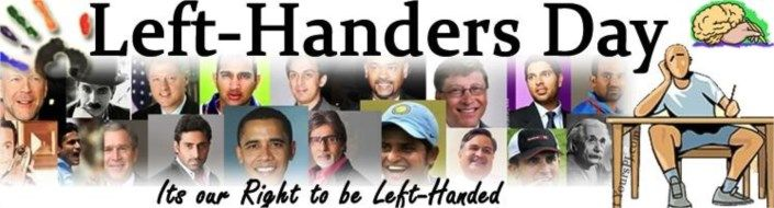 #Todayinhistory National Left Handler's day is celebrated on 13th August  International Left-Handers Day is a day to bring attention to the struggles which lefties face daily in a right-handed society. August 13th is observed as International Left-Handers Day. Read more at http://www.laughspark.com/today-in-history-on-13th-august-14253/today-in-history-national-left-handlers-day-is-celebrated-on-13th-august-3378 #Laughspark #factoftheday