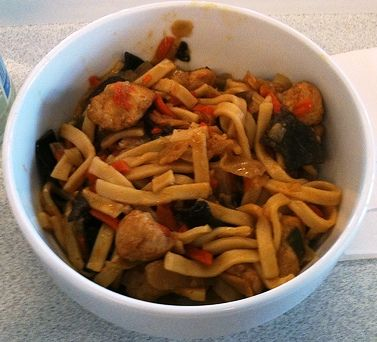 Bami Goreng (Indonesia and Holland). So easy to prepare and so tasty!