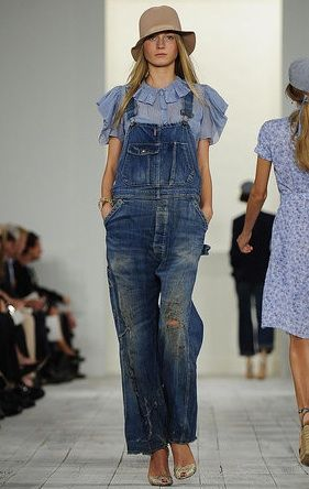 Love my dungarees to go walking in the countryside...these are by Ralph Lauren (mine are ancient, from The Gap)
