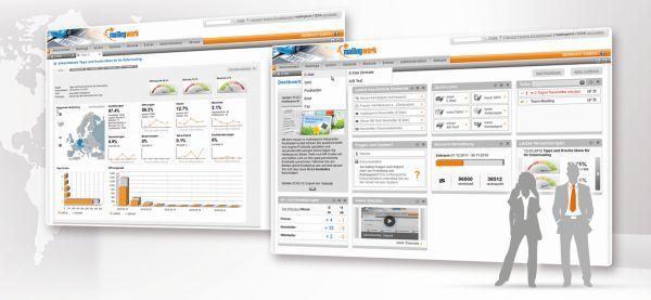 Die #Newsletter-Software von mailingwork überzeugt mit übersichtlichem Aufbau, klaren Bedienstrukturen und einem Newsletter-#Editor mit integrierten Bildbearbeitungstool.