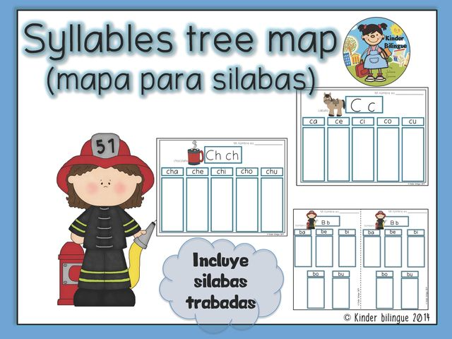 I have a feeling you'll like this one 😍 Syllables tree map in Spanish http://www.kinderbilingue.com/products/syllables-tree-map-in-spanish?utm_campaign=crowdfire&utm_content=crowdfire&utm_medium=social&utm_source=pinterest
