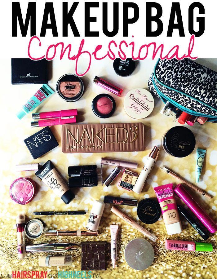 1000+ Ideas About Makeup Bag Essentials On Pinterest