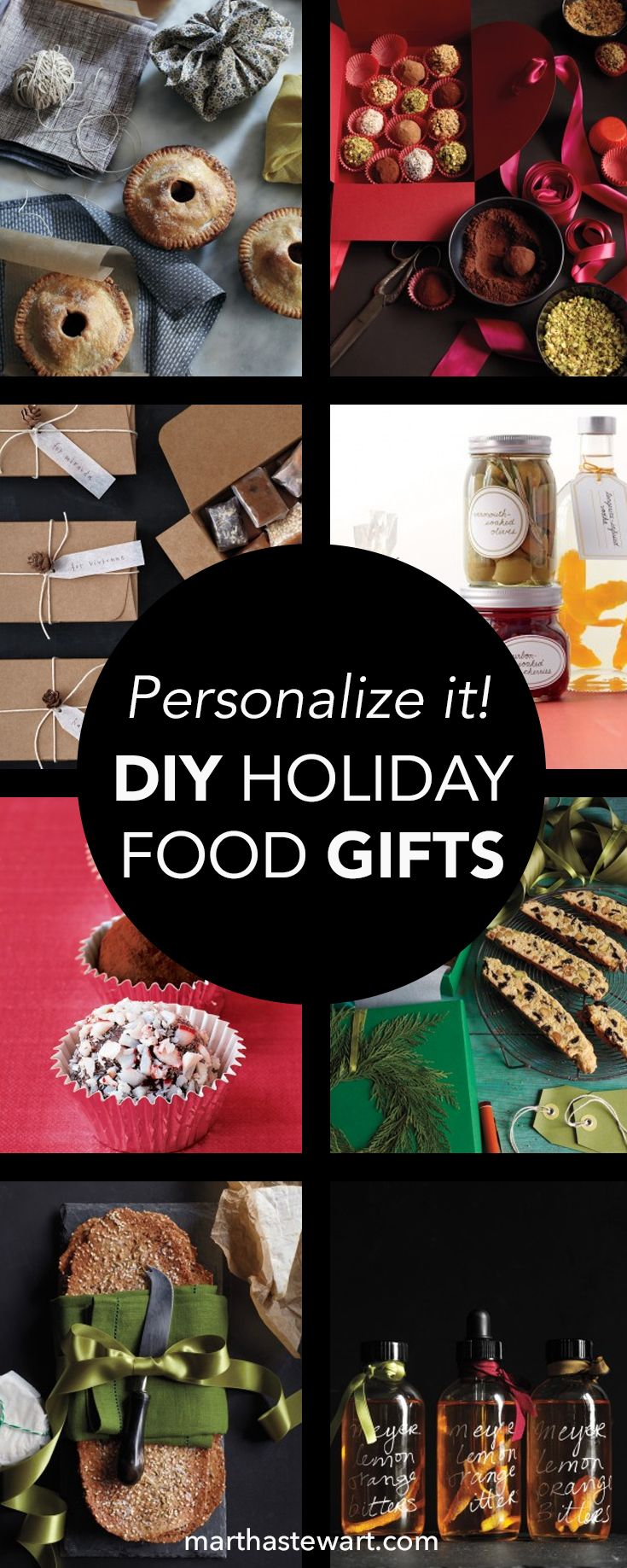 Handmade gifts are the best kind, particularly when they're edible and prettily packaged. And although the items in our collection are all easy to make, offering them to friends is much more than a small gesture -- it's a personal one, showing the best sentiments of the season.