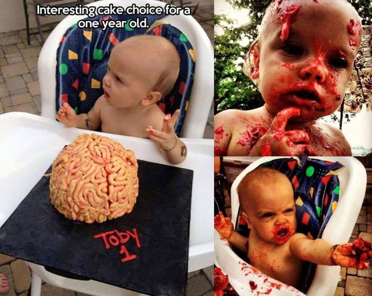 You can thank Jasmine Walt for this one. #ZombieBabyLikesCake