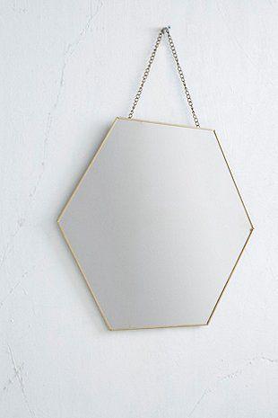 Les 25 meilleures id es de la cat gorie miroir hexagonal for Miroir urban