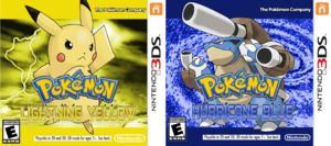 Kanto 3DS - Pokemon Lightning Yellow & Pokemon Hurricane Blue