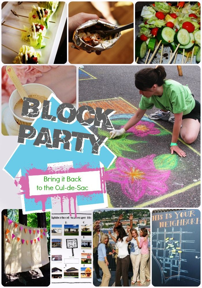 This blog is loaded with great ideas for adults, children and families who would like to organize or enjoy a neighborhood block party. Tips include games, food and activities.