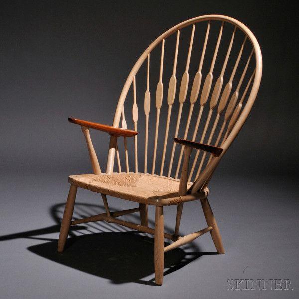 Hans Wegner (1914-2007) Peacock Chair (Est. $1,000-1,500)